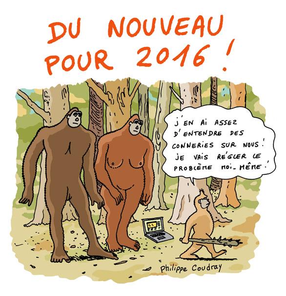 Voeux bigfoot pour 2016