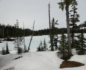 Le premier lac (Photo E. JOYE)